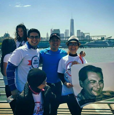 Thank you, Caesar Vargas, from the Dream Action Coalition for joining us at the ALS Walk
