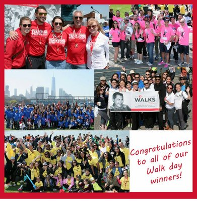 Record-breaking number of Walkers, and to date, the ALS Walk NYC raised over $330,000!